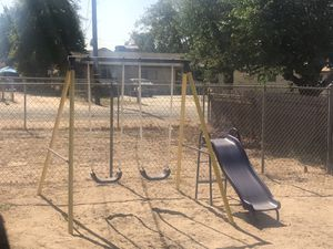 Kid swing set for Sale in Highland, CA
