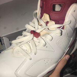 Jordan 6 (Maroons)! for Sale in Danbury, CT