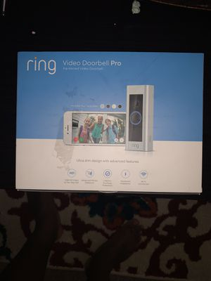 Ring doorbell Pro for Sale in Thompson's Station, TN