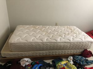 Two twins beds with bunk bed frames for Sale in Bedford, VA