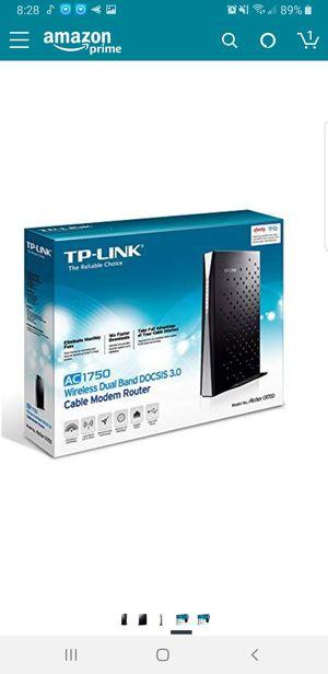 TP-Link Archer CR700 Modem & Router for Sale in Orange, CA