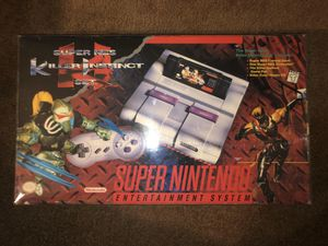 Super nes killer instinct set for Sale in Los Angeles, CA