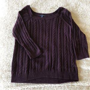 Size M American Eagle Purple Knit Sweater for Sale in Newport News, VA