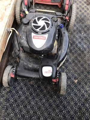 Self propelled electric start craftsman mower for Sale in Visalia, CA