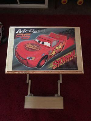 McQueen wood little kids desk for Sale in Norwalk, CA