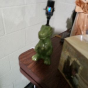 Green Kids Dinosaur lamp for Sale in Cleveland, OH