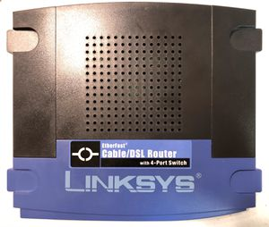 Linksys 10/100 Wired Router for Sale in Galveston, TX