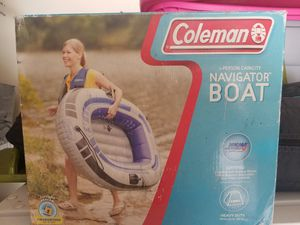 Inflatable Coleman I person boat for Sale in San Antonio, TX