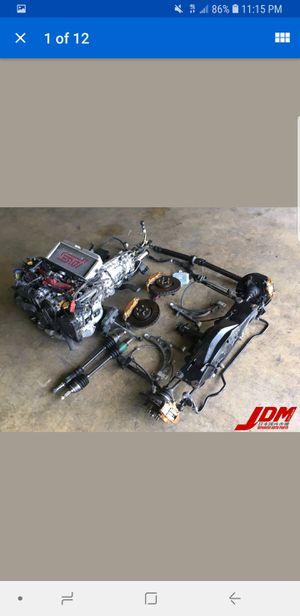Used JDM Subaru Impreza WRX STi Version 7 2002-2003 Complete Swap for Sale in Atlanta, GA