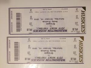 Husky vs. Oregon, 2 tickets for Sale in Seattle, WA