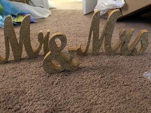 Wedding Mr & Mrs for Sale in Harrisonburg, VA