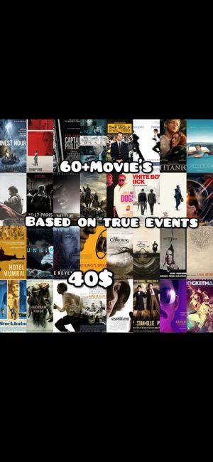 60 + Movie's on usb for Sale in Bellflower, CA