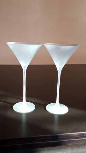 BELVEDERE VODKA 007 COLD ACTIVATED MARTINI GLASSES (16) for Sale, used for sale  Chula Vista, CA