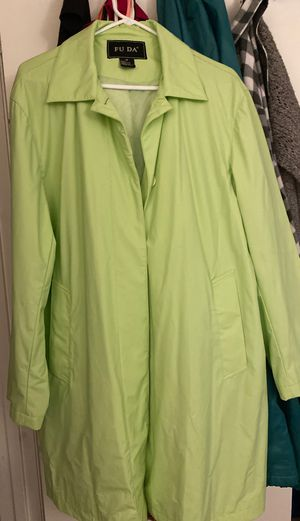 NWOT Fuda Raincoat for Sale in Charlotte, NC
