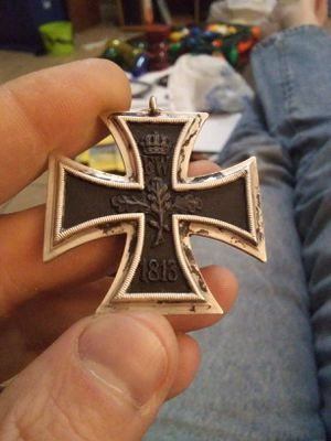 Antique German cross of the Iron Cross 1914 for Sale in Tull, AR