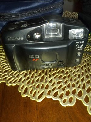 Canon film camera 35 mm and films for Sale in Whitehall, OH