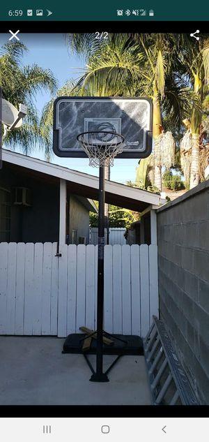 Adjustable basketball hoop $60 for Sale in City of Industry, CA