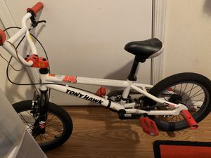 Boys Tony Hawk BMX bike for Sale in Virginia Beach, VA
