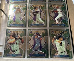 1995 Topps Finest Complete Baseball Card Set 1-330 In Binder. Looks mint for Sale in Brea, CA