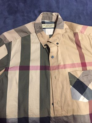 Burberry Cotton Shirt for Sale in Columbia, MD