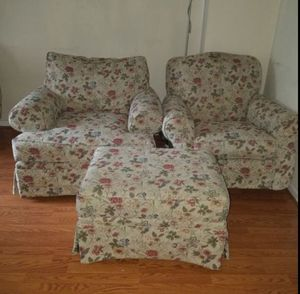 Couch y roking chair/ottoman for Sale in Ashburn, VA