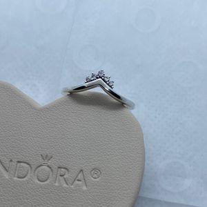 Tiara Wishbone Ring Size 52EU/6 for Sale in Park City, IL