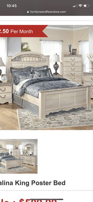 King size bed for Sale in Tivoli, NY
