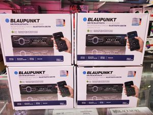 BLUETOOTH CAR STEREO SYSTEM AVAILABLE WITH USB AND RADIO STATIONS for Sale in Los Angeles, CA