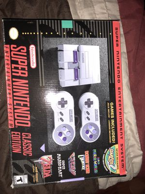 Super Nintendo classic edition for Sale in San Francisco, CA