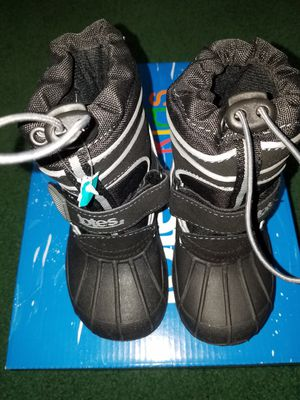 Waterproof shell toddler boy's snow boots for Sale in Elyria, OH