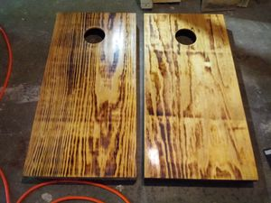 Corn hole set for Sale in Peoria, IL