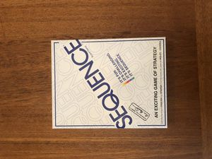 Sequence Board Game for Sale in Kennewick, WA