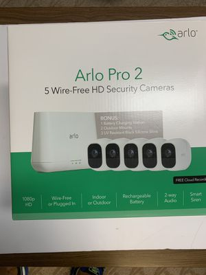 Arlo Pro 2 security cameras for Sale in Milford, CT
