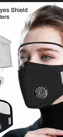 US Outdoor Windproof Cotton Face Protective Face Mask with Eyes Shield Unisex~ for Sale in Fresno,  CA
