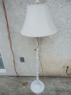 White floor lamp for Sale in Riverside, CA