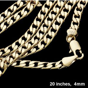 20' Mens GOld Plated Chain NEW for Sale in Parkville, MD