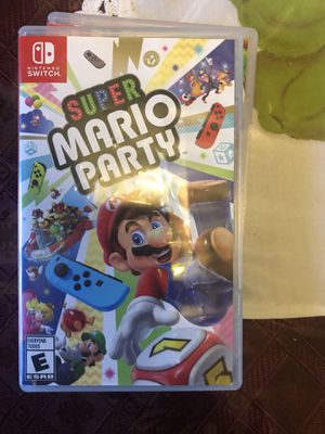 Mario Party Nintendo Switch.. for Sale in Galt, CA