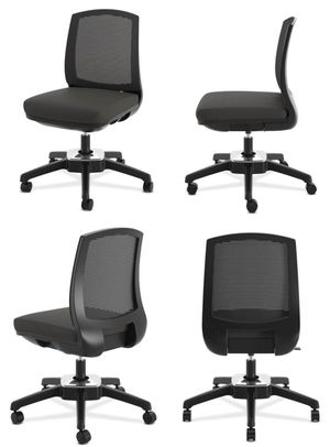 NEW HON model HVL951 Black Task Office Computer Desk 250lbs Capacity Pivot Motion Conference Chair Adjustable Height Black Average MSRP $280 for Sale in Los Angeles, CA