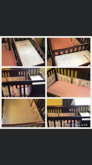 Baby Crib/converts to toddler bed for Sale in Miami Gardens, FL