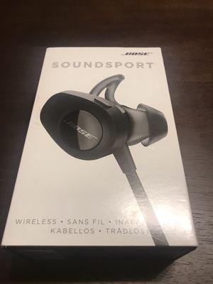 Bose Soundsport Wireless Headphones in Black - Make Offer!!! for Sale in Paradise Valley, AZ