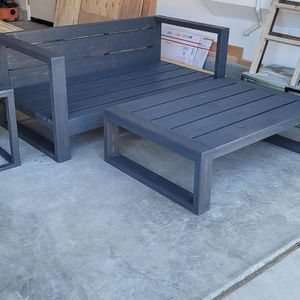 Modern Patio Furniture Low Profile for Sale in Los Angeles, CA
