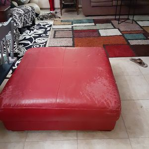 Free leather ottoman for Sale in Sun City, AZ