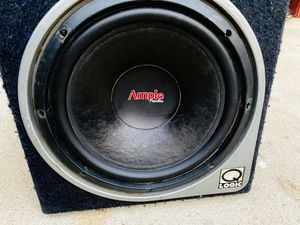 $60 / Ample shallow 12 inch Sub / QLogic Sub Box for Sale in Sanger, CA