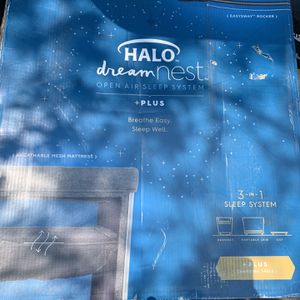 Halo Dreamnest 3-in-1 Open Air System Playpen/ Bassinet for Sale in Phoenix, AZ