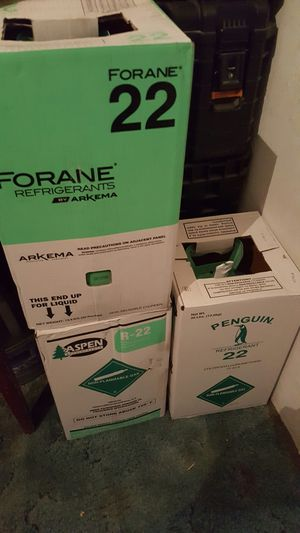 New R22 Freon New Virgin Sealed $375 new never Opened for Sale in Mesa, AZ