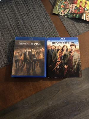 Entire series of Revolution on BlueRay no scratches at all for Sale in Sacramento, CA