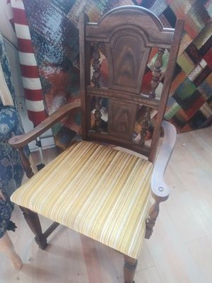 Antique wood arm chair for Sale in Palmetto, FL