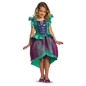 Disney Princess Ariel Mermaid Child Halloween Carnival Fancy Dress Girls 7 - 8 for Sale in Groveton, VA