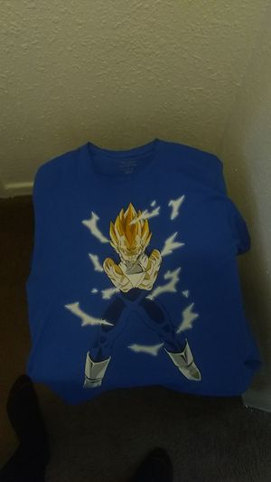 Dragon Ball z Vegeta shirt for Sale in Detroit, MI