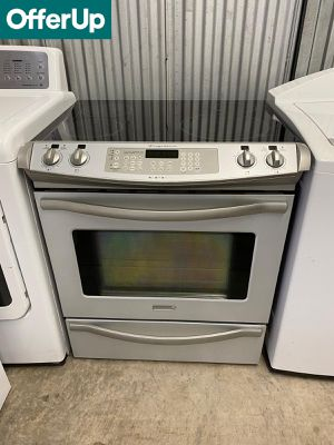 Frigidaire Slide-In Electric Stove Oven Glass Top #1255 for Sale in Orlando, FL